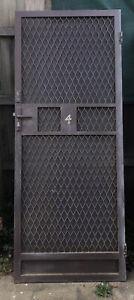 Fly screen door NO KEY 81.2 cms (width) x 202.3 cms (height) x 2 cms (depth)