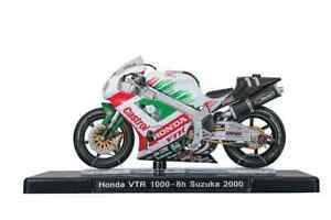 VALENTINO ROSSI Honda VTR 1000 MotoGP Bike - Collectable Model - 1:18 Scale