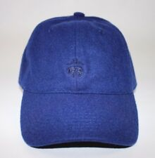 NWT BROOKS BROTHERS Size S/M Men's Blue Wool Blend FLEECE Logo Baseball Hat
