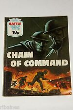 Battle Picture Library Comic, Number 1401, Chain of Command, British Pocket