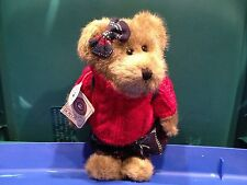 Boyds Bears Rare Retired QVC Exclusive Stephanie B. Learnin Bear With Backpack