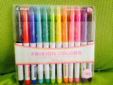Pilot Frixion Colors Erasable Marker Pens - 12 Colors Set
