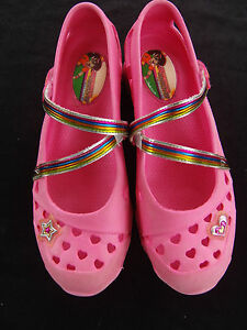 Sketchers Mary Jane Straps Flat Comfy Sporty Shorty Pink  Shoes  Womens  4 - 6