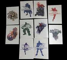 10 Large Marvel Avengers Temporary Non Toxic Tattoos