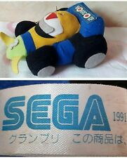 1991 SEGA SUPER MONACO GP MODEL CAR PLUSH - 22Cm. - Sonic Figure Game Mega Drive