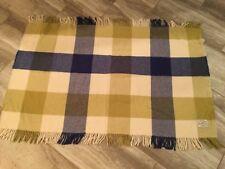 Foxford Woollen Mills Rug or Blanket 100% Merino Wool Made in Ireland Plaid