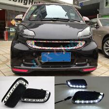 For Mercedes Benz Smart fortwo 2008-11 LH+RH Daytime Running Light Fog LED DRL j