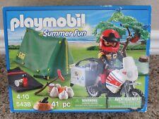 Playmobil 5438 Summer Fun Biker at Camp Site