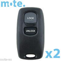 2 x Mazda 626 323 MPV Premacy 3 6 Remote Replacement Shell/Case/Enclosure