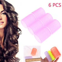 Full Size Hair Styling Tools Self Grip Hair Rollers Salon Hairdressing Curlers