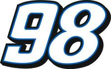 NEW FOR 2020 - #98 Chase Briscoe Racing Sticker Decal - Sm thru XL - var. colors