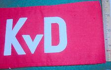 East German army (NVA) armband KvD