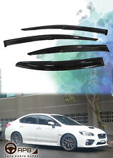 For Subaru WRX STI 14-18 Mugen Window Visor Deflector Shield Weathershield