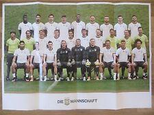 Poster von der Herren Fussball Nationalmannschaft *DEUTSCHLAND* EM 2016 Din A2