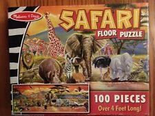 Melissa and Doug 100 piece Safari Floor Puzzle