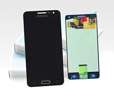 Original SAMSUNG Galaxy A3 A300F 2015 Schwarz LCD Display Bildschirm Screen NEU