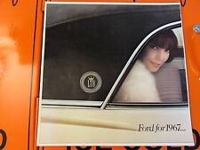 1967 Ford Sales Brochure * Specifications * Galaxie * LTD