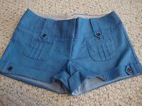 Women's juniors CHARLOTTE RUSSE blue shorts, 5