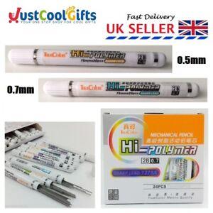 Mechanical Parker Pen Pencil Lead Refill Grade 0.5mm 0.7mm 1 pack = 20 leads