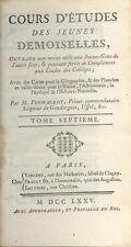 Cours d'études des Jeunes Demoiselles/Abbé Fromageot/Tome 7/Histoire/1775