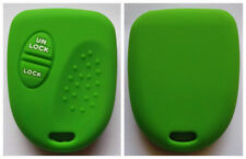 GREEN 2 BUTTON SILICONE KEY COVER FOR HOLDEN COMMODORE WH WK WL VS VT VX VY VZ