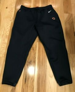 Nike Chicago Bears Team-Issued Heavy Therma-fit Pants CJ8311 459 Men's XL