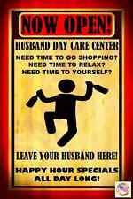 TODAY'S SPECIAL! HUSBAND DAY CARE BAR MADE IN USA! METAL SIGN 8X12 MAN CAVE BEER