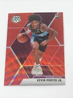 2019-20 Panini Mosaic Tmall Kevin Porter Jr. Red Wave Prizm Rookie RC #248