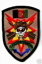 ISAF JSOC JOINT SPECIAL OPS TASK FORCE JSOTF AFGHANISTAN INFIDEL SEAL ODA PATCH