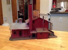 ho scale built building life like die craft manufacturing company factory scene
