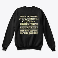 Agricultural Engineer Funny Gift Hanes Unisex Crewneck Sweatshirt