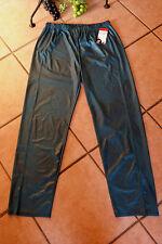 MAGNA Leggings Hose Kunstlederoptik 40 42 NEU petrofarbenl Stretch LAGENLOOK