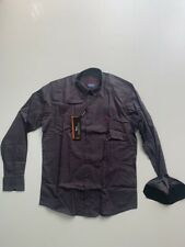 New Men Harmont and Blaine Shirt Grey With Red Dots - Size XL