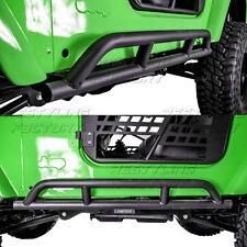 1 Pair Rock Crawler Side Armor Rocker Slider Guard for 97-06 Jeep Wrangler TJ