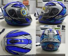 CASCO INTEGRALE IN FIBRA CARBON VEMAR VSR STARLINE 177 REPLICA ROBY ROLFO