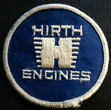 """RARE VINTAGE SNOWMOBILES HIRTH ENGINES PATCH ABOUT 3"""" X 3""""  NEW"""