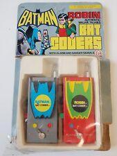 Mego vintage Batman and Robin rare vintage bat coder walkie talkies 1977 dc