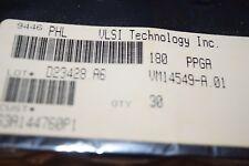 VLSI VM14549-A.01 180-Pin PPGA Factory Sealed Tray IC New Quantity-30