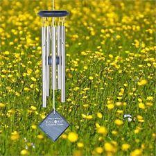 WOODSTOCK campane carillon di vento di Mercurio Blu Wash finitura piccoli Ruggine A Prova d'argento