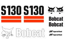 (ORIGINAL LOOK) BOBCAT S130 FULL DECAL STICKER SET KIT SKID STEER TSO2
