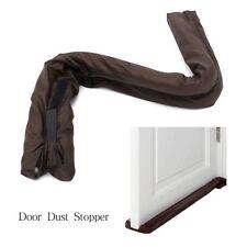 Twin Door Draft Dodger Guard Stopper Energy Saving Protector Doorstop Home K8U6
