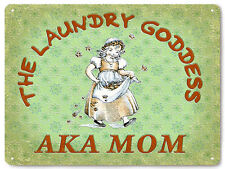 Laundry room funny metal sign vintage style GIFT Baby nursery Wall Decor 139