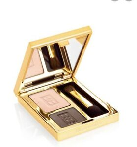 Elizabeth Arden Beautiful Color Eye Shadow Duo Tempting Taupe 3g New Box