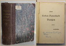 Richard Reymann Geschichte der Stadt Bautzen 1902 Original Sachsen Ortskunde sf