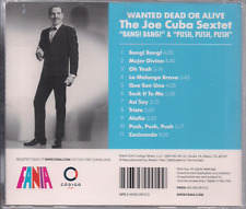FANIA Salsa RARE CD REMASTERED Joe Cuba WANTED DEAD OR ALIVE cocinando ALAFIA