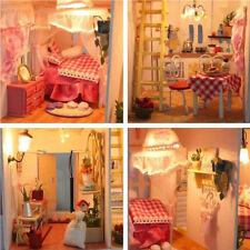Große Hölzerne Kinder Puppenhaus Spielzeug Set Mädchen Spiel Mansion Möbel