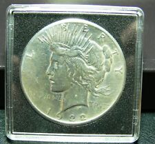 1 Dollar USA Peace Dollar 1922 Silber original in Kapsel
