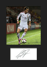 GARETH BALE #6 Signed Photo Print A5 Mounted Photo Print - FREE DELIVERY
