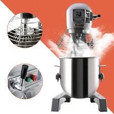 45hp 15qt Commercial Bakery Mixer Dough Blender Food Mixer Gear Driven 600w Dsu