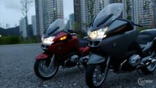 1/10 Autoart BMW R1200RT (Red color) LED modify by MBW